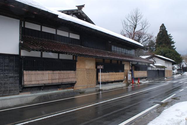 画像: 18世紀の町並みを残す関川村