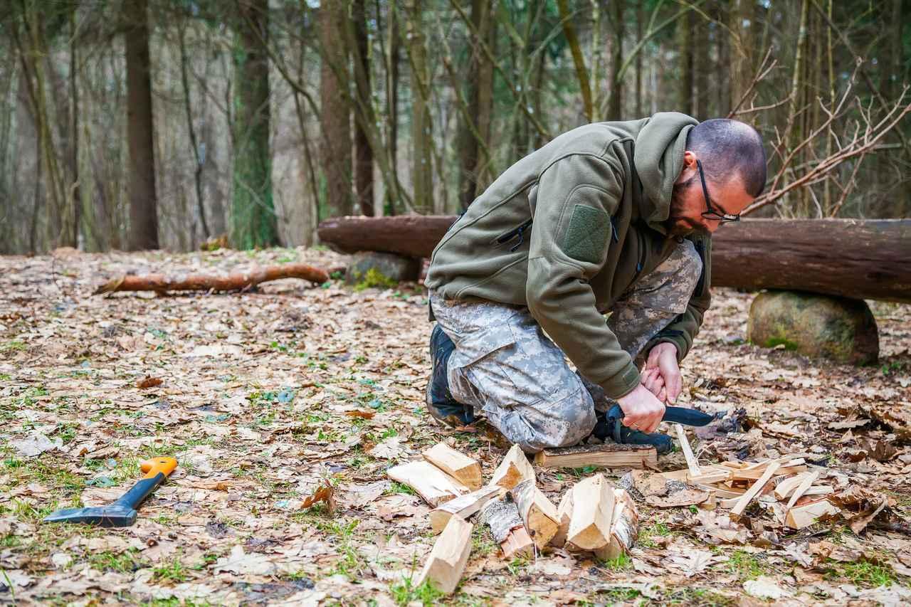 画像: 【体験レポ】ナイフを使ってひと工夫!キャンプにブッシュクラフトをプラスして自然を純粋に楽しむ - ハピキャン(HAPPY CAMPER)