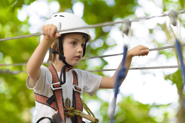 画像: 子ども自身が成長を実感できる5階層スカイアスレチックはここだけ! ※画像はイメージ