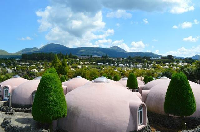 画像: 森の中のドーム型ホテルで宿泊も可能!