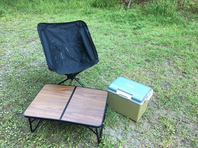 ソロ キャンプ クーラー ボックス