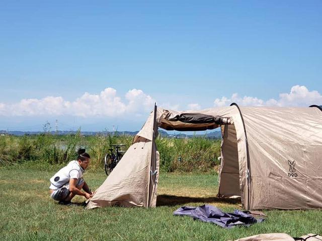 画像: 【動画付き】DODのカマボコテントレビュー!チーカマスタイルで快適キャンプになりました - ハピキャン(HAPPY CAMPER)