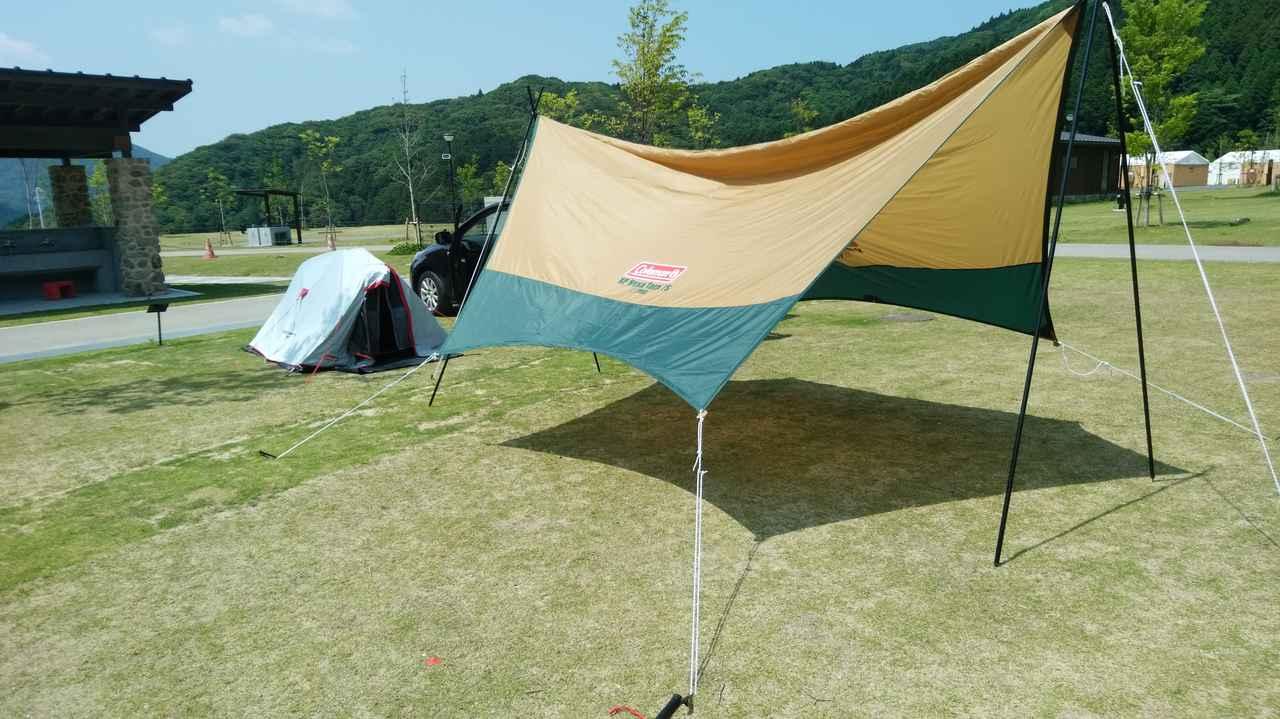 画像: 設営が簡単なコールマンのタープは初心者におすすめ いつものキャンプをタープでアップデートしよう