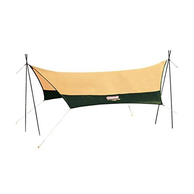画像2: テントと組み合わせて快適に!コールマンのおすすめタープ3選&初心者向けに選び方も伝授