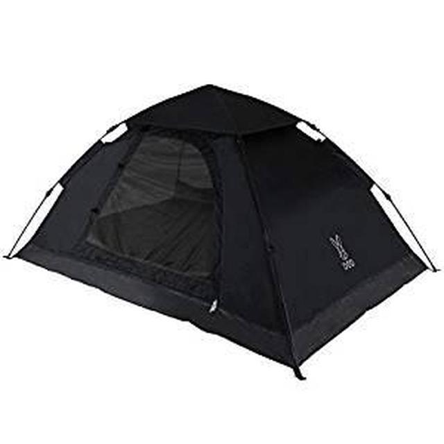 画像1: 【レビュー】DODのワンタッチテントを女子ソロキャンプで使ってみました!