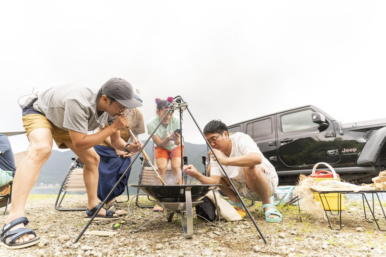 画像: 【おぎやはぎのハピキャン】ゲストはこいしゆうかさん!湖畔キャンプでみんなが絶賛したギアを公開! - ハピキャン(HAPPY CAMPER)