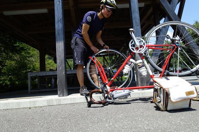 画像: 筆者撮影・パンク修理技術はサイクリングでは必修科目です!