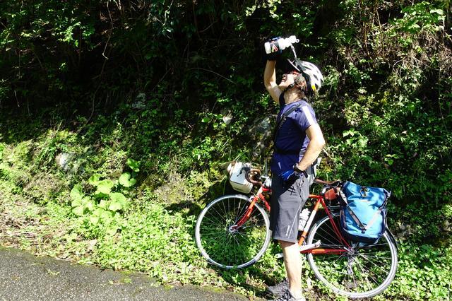 画像: 筆者撮影・これが夏のサイクリングの醍醐味です!