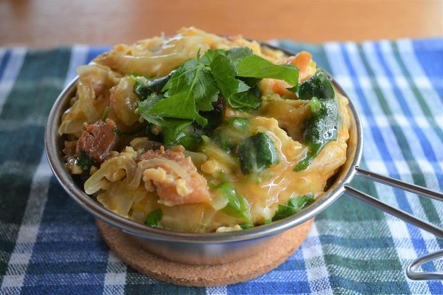 画像: 【シェラカップで料理】ご飯を美味しく炊くコツ&超簡単丼レシピをご紹介! - ハピキャン(HAPPY CAMPER)