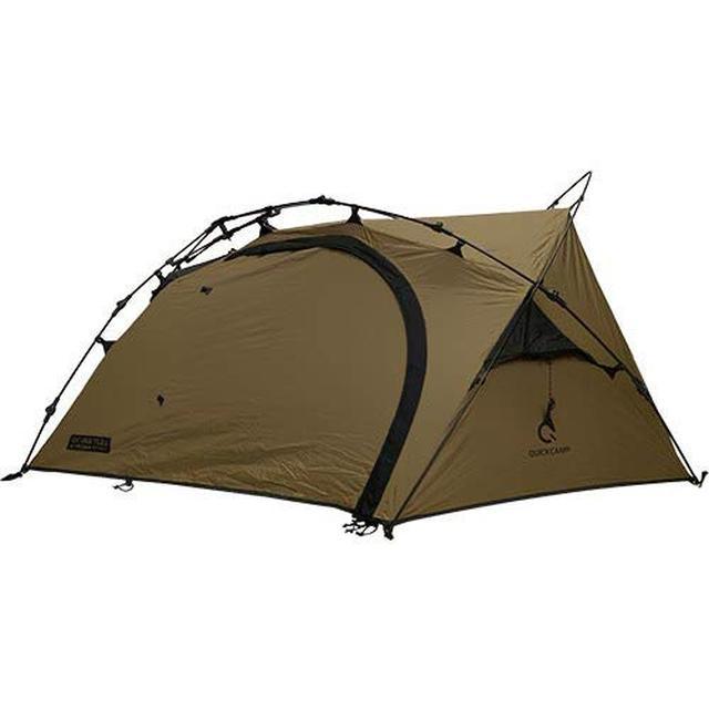 画像: 簡単設営撤収のワンタッチテント「クイックキャンプのビートルテント」をレビュー!