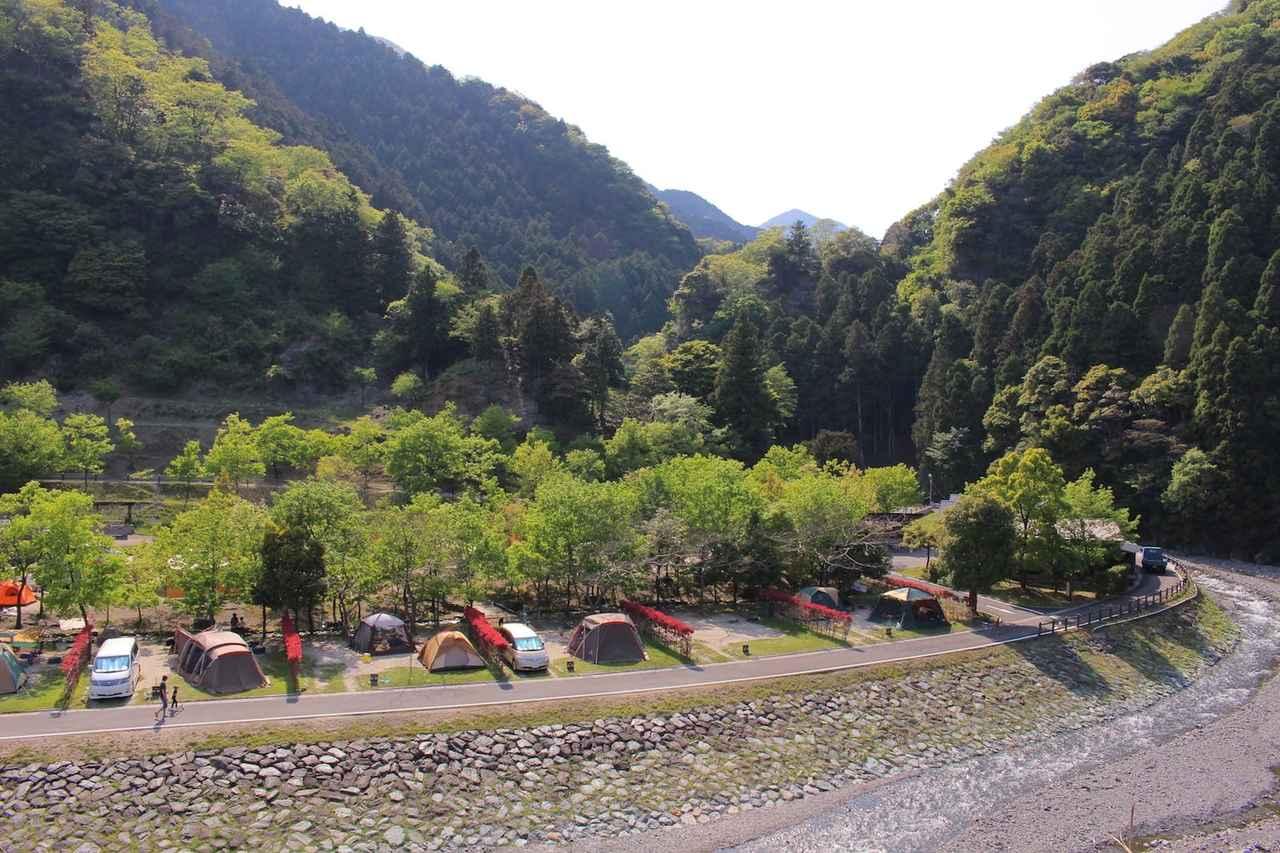 画像1: 出典:青川峡キャンピングパーク