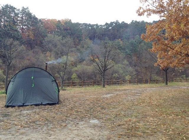 画像: 筆者撮影 御座松キャンプ場の様子