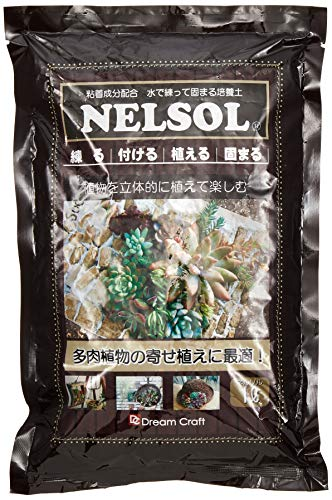 画像: 【多肉リースDIY】100均ザル&固まる土ネルソルを使ったおしゃれリースの作り方