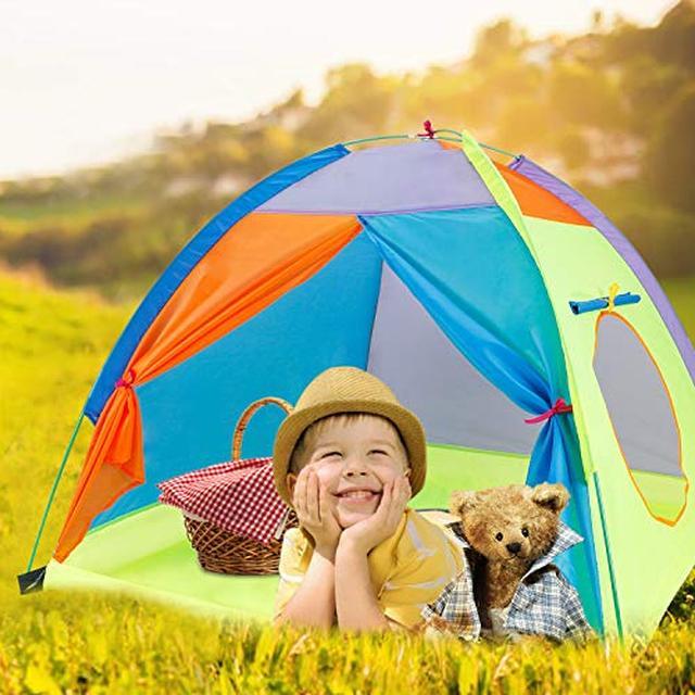 画像6: コールマンやロゴスの子供用キャンプグッズ7選 子供用の椅子や寝袋は安全性が高い!