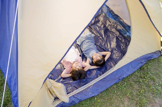 画像: 子供用キャンプグッズはファミリーキャンプの必須アイテム! 特に寝袋・椅子は子供用を用意してね!