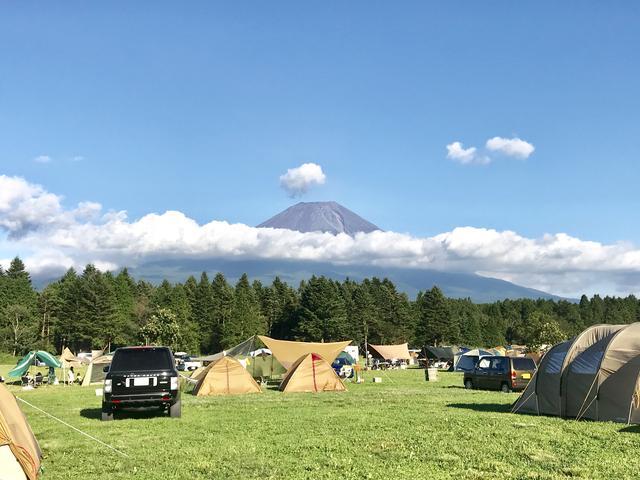 画像: Snapmart ふもとっぱらキャンプ場 イメージ写真