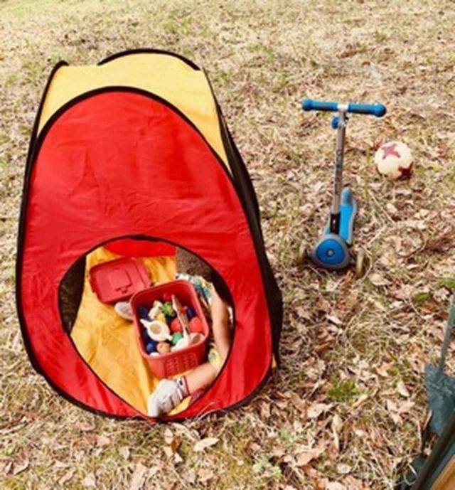 画像: 赤ちゃんや子供とのキャンプに! 〜持って行ってよかった! ミニテント編〜 - ハピキャン(HAPPY CAMPER)