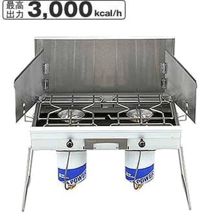 画像6: ツーバーナーは高火力&コンロ2つで快適料理! コールマンやSOTOなどおすすめ製品7選