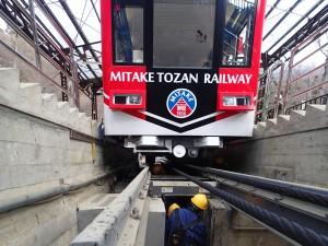 画像: 御岳登山鉄道