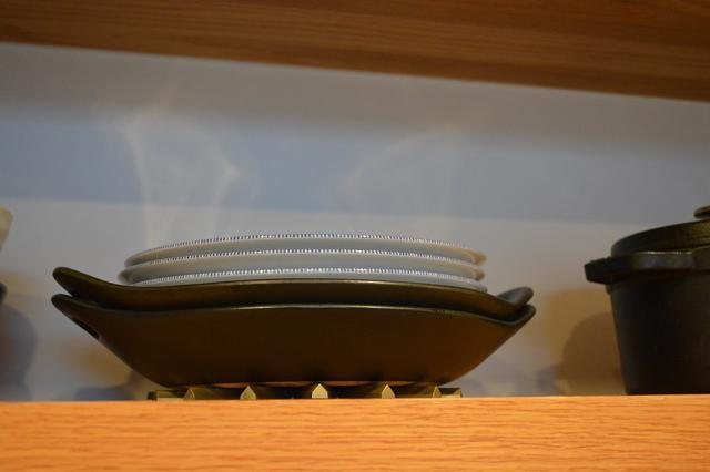画像: 筆者撮影:自宅キッチンの収納