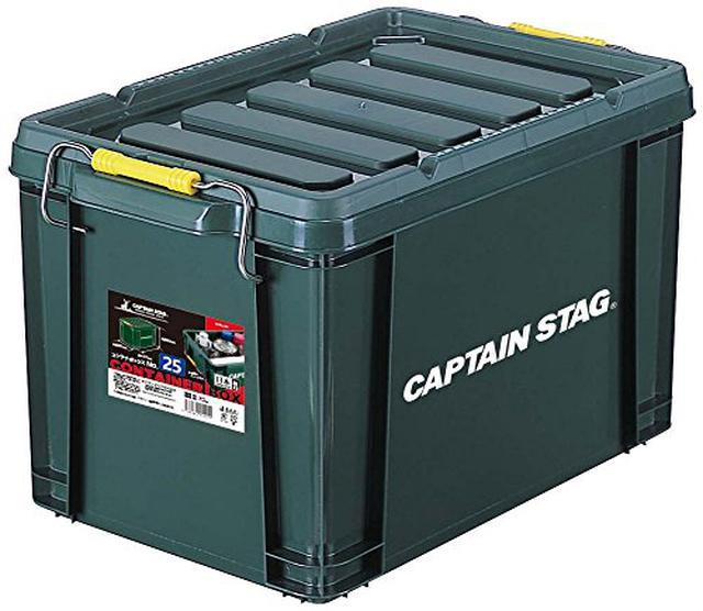 画像3: 【キャンプ道具の収納】コツは「縦積み」すること!実例やおすすめ収納ボックスも紹介