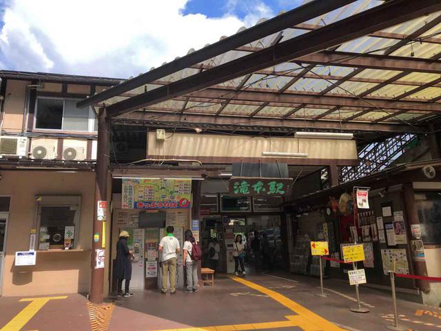 画像: 筆者撮影:滝本駅