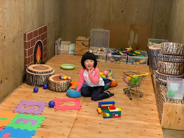 画像: 編集部撮影:管理棟内には子供が遊べるキッズコーナーも