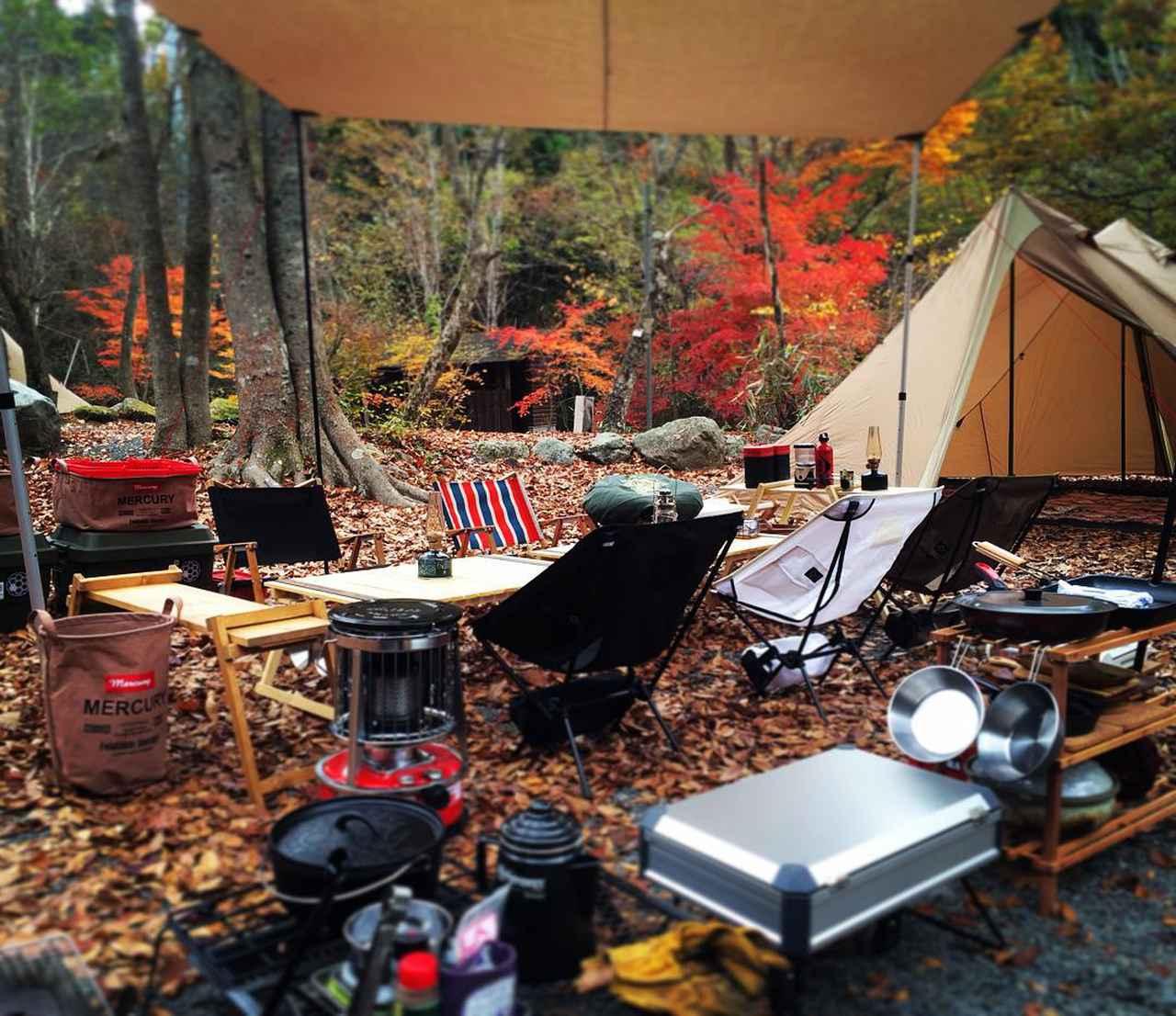 """画像1: GOTO on Instagram: """"#キャンプ#camping #campstyle#山伏オートキャンプ場#NATALDESIGN#alpaca#タトンカ2tc#ニーモ#ヘキサライト6P#nemoequipment #hexalite6p 2015.10.31-11.1 紅葉狩りに来ました最&高‼︎…"""" www.instagram.com"""
