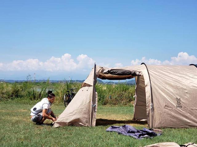 画像: 【動画で解説】DODのカマボコテントレビュー チーカマスタイルでキャンプを快適に - ハピキャン(HAPPY CAMPER)