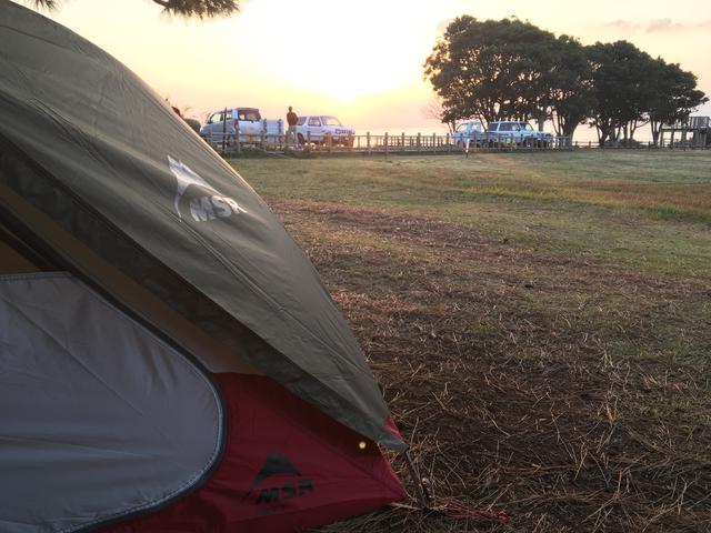 画像: esさん撮影・お気に入りのテントですとキャンプの楽しさも倍増です!