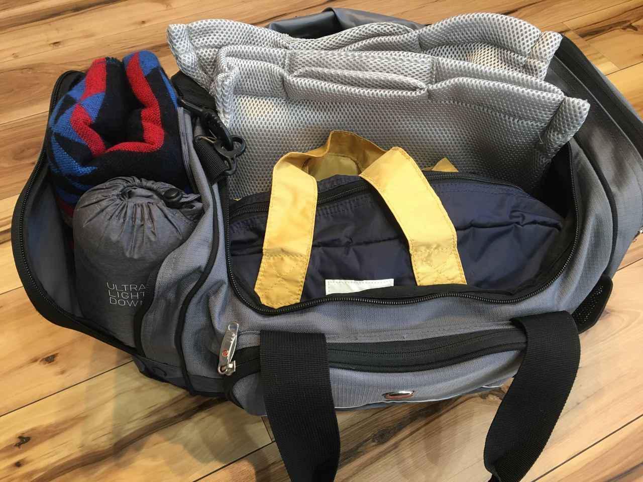 画像: 【キャンプ荷造り】衣類・洗面用具の裏技メソッドを大公開! 持ち運びに便利なバッグに収納 - ハピキャン(HAPPY CAMPER)