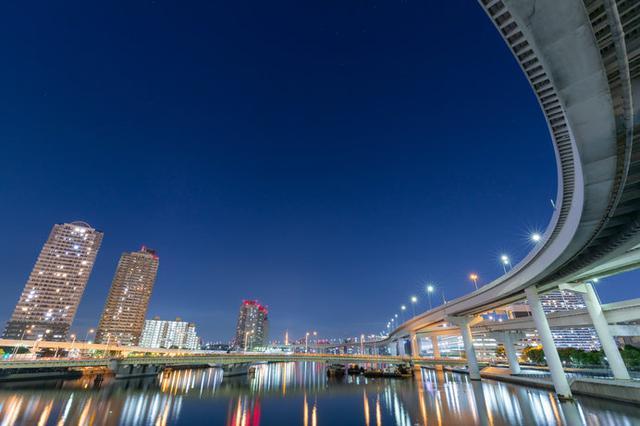 画像: 東京のウォーターフロント夜景