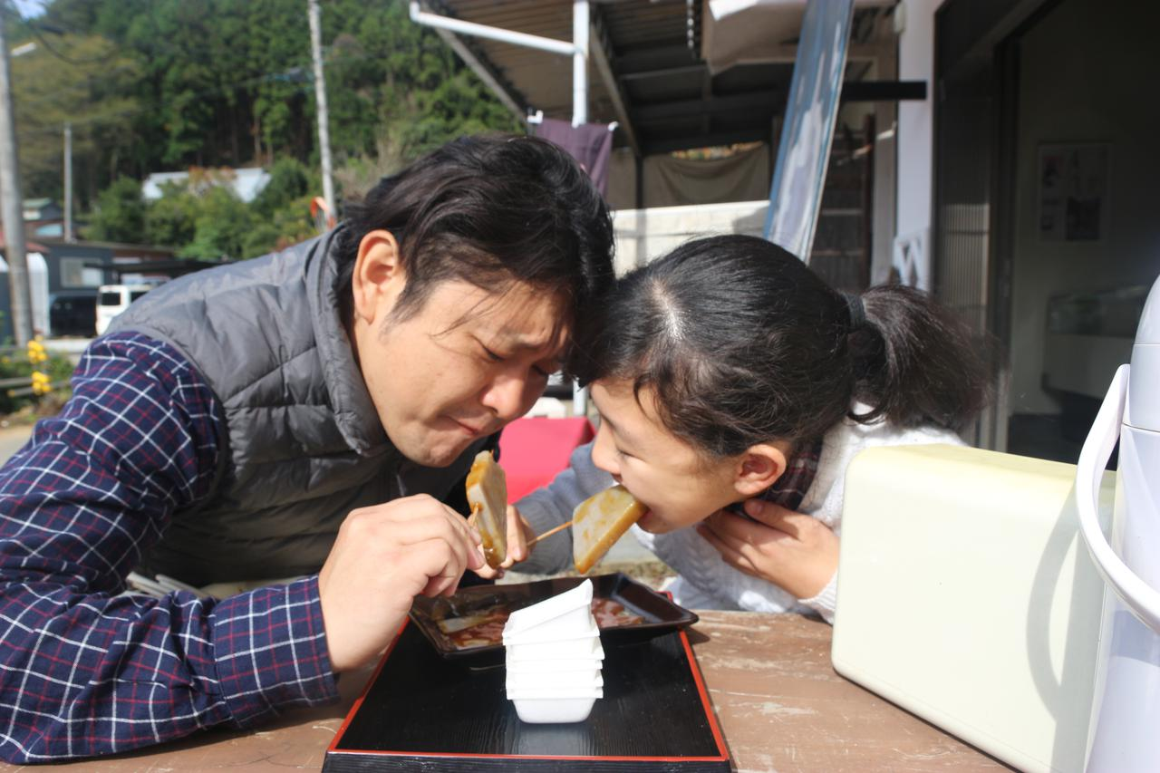 画像: こちらは味噌田楽(1本100円):長男撮影