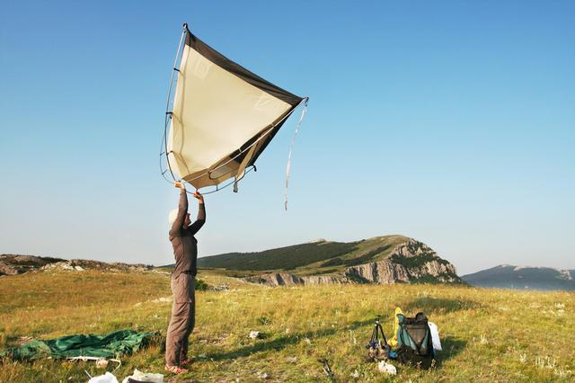 画像1: 山岳テントは設営が楽で、軽量&コスパ良し 初心者の登山泊におすすめ!