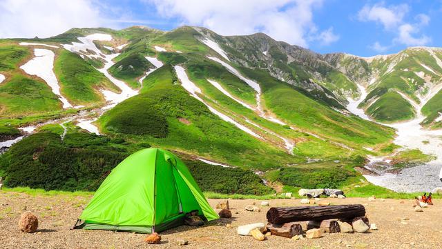 画像: (筆者撮影:ヘリテイジのハイレヴォと立山連峰)
