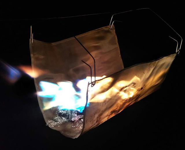画像: <DIYシリーズ>ちょっとワイルドに!吊るし型焚き火台を作ってみた - ハピキャン(HAPPY CAMPER)