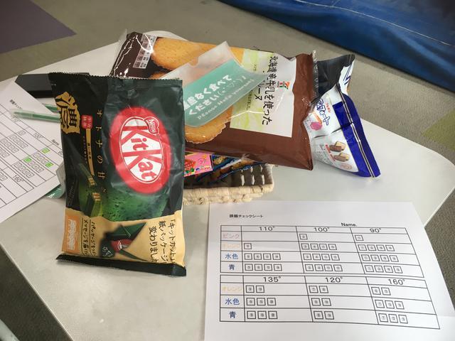 画像: 筆者撮影 お菓子を提供してくださって休憩