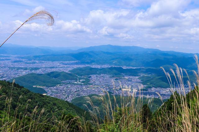 画像: (筆者撮影:京都市内を見渡せる)