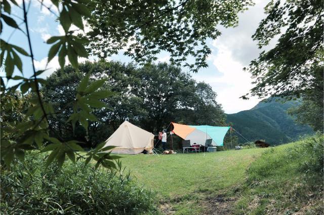 画像1: 筆者撮影 田貫湖キャンプ場