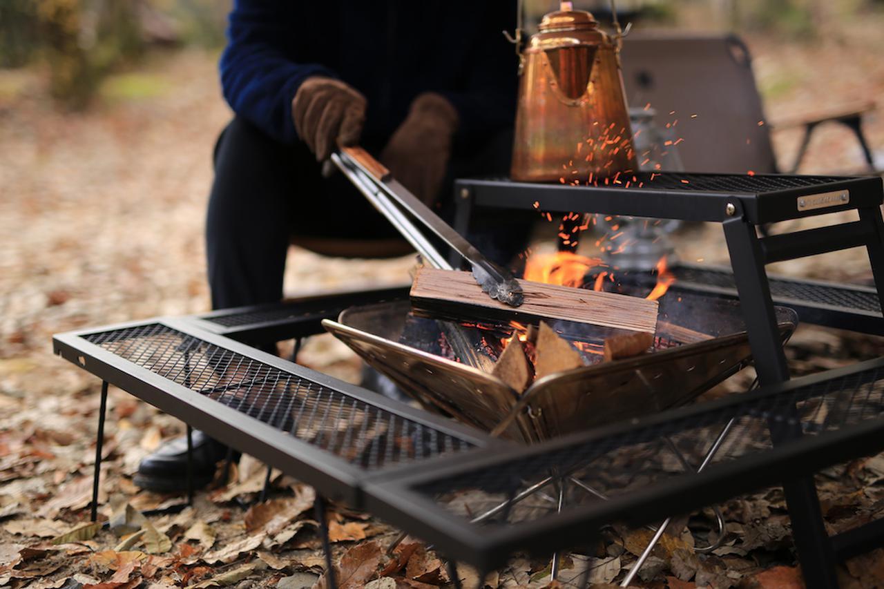 画像: 組み合わせ自由自在な「囲炉裏テーブル」