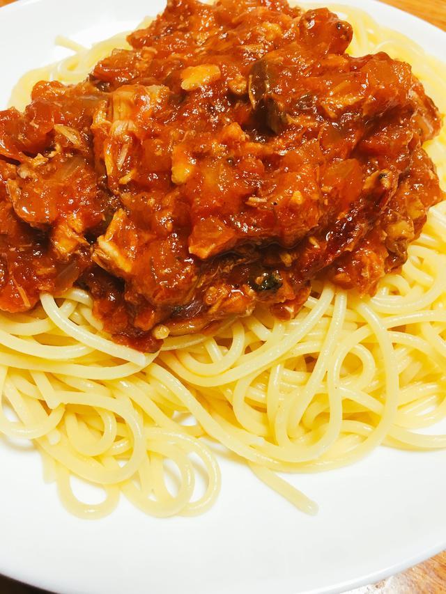 画像: 【簡単缶詰レシピ②】サバ缶のトマトパスタ 調味料を変えるだけでバラエティも豊富になるのでおすすめ