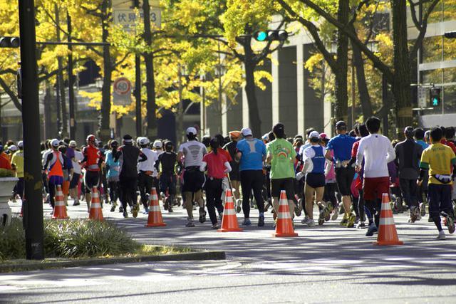 画像: 東京マラソン以外にも全国各地でマラソン大会が開催されています