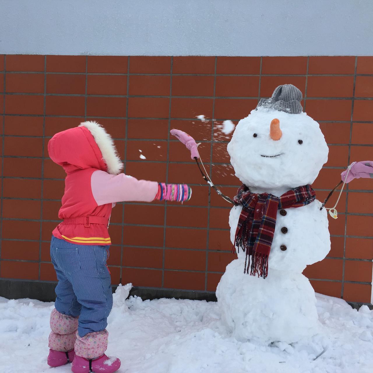 画像1: 雪だるまを作る前には設置場所と大きさを想定しておこう!