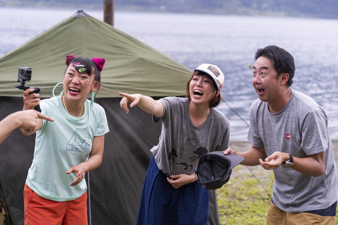 画像1: 【おぎやはぎのハピキャン】キャンプでサウナ体験!?人気YouTuber2人の動画撮影にも注目(後編) - ハピキャン(HAPPY CAMPER)