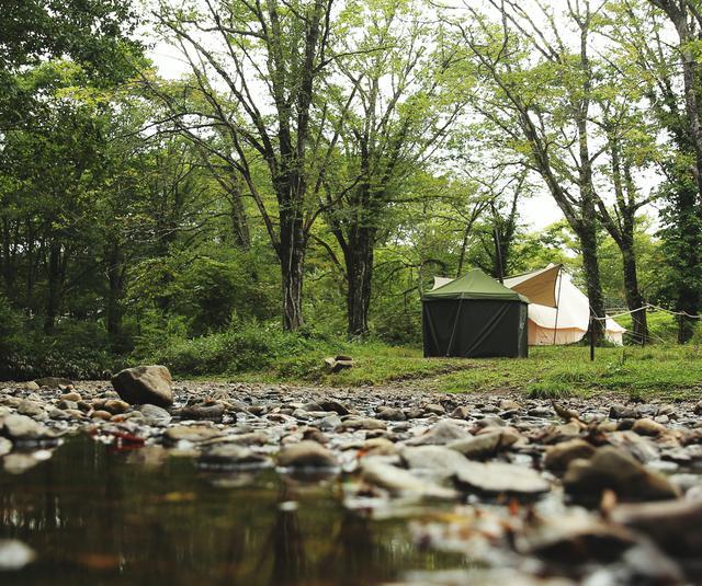 画像: サウナ付きオールインワンプレミアムサイト  戸隠キャンプ場