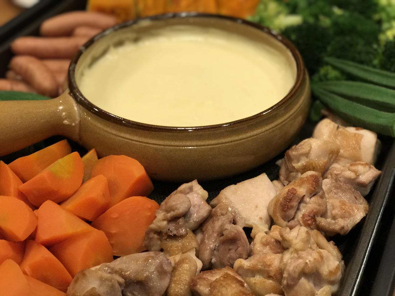 画像: チーズフォンデュ鍋はキャンプにおすすめ! チョコフォンデュやバーニャカウダにも使えてデザインも◯