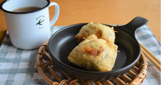 画像: 梅納豆もち巾着の作り方
