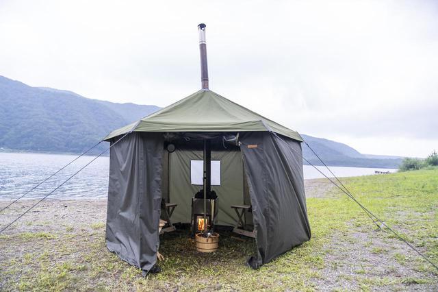 画像: キャンプ好きの間で話題のテントサウナ!どこで購入できる?レンタルは可能? - ハピキャン(HAPPY CAMPER)