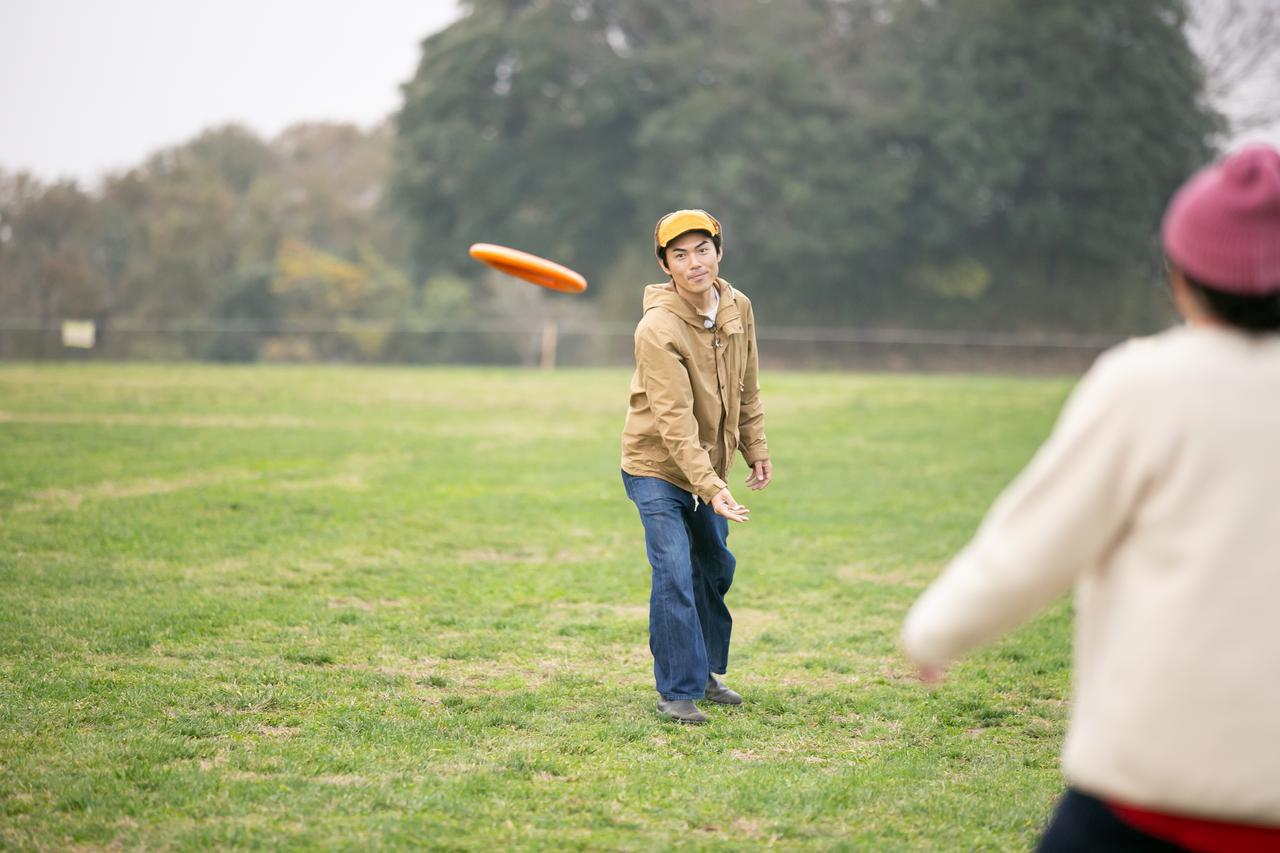 画像: テニス遊びも楽しめる!オゴディスク ミニの遊び方