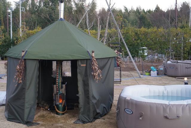 画像: 【体験レポ】テントサウナに初挑戦! 千葉の農園キャンプ場THE FARM(ザファーム)でキャンプしながらリラックス - ハピキャン(HAPPY CAMPER)